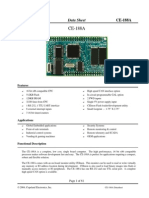 CE-188A Datasheet 101304