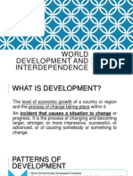 World Development and Interdependence