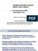 MAJOR ECONOMIES BUSINESS FORUM ON ENERGY AND CLIMATE