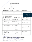 Form 4 Additional Mathematics Chapter 5 Indices&Logarithms
