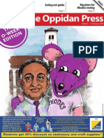 The Oppidan Press - O-Week 2014 Edition