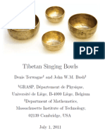 Tibetan Singing Bowls - Denis Terwagne and John W.M. Bush