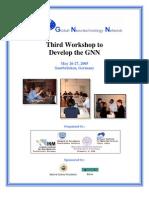 Report - Third GNN Development Workshop