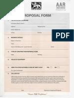 Insurance Form AAR Credit