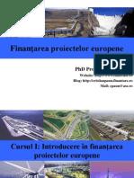 Cursul 1_Introducere in Finantarea Proiectelor