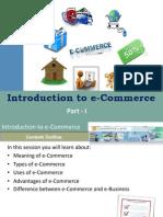 #5 Intro to ecommerce