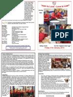 Newsletter Jan 24 2014