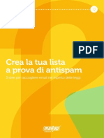 MailUp eBook 12-Creare Liste Email Antispam