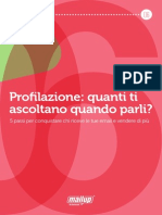 MailUp eBook 06-Come Profilare Campagne Email Marketing