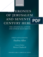 Allen - Sophronius of Jerusalem and Seventh Century Heresy.pdf