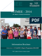 VITMEE 2014 Information Brochure