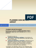Plansee Din Beton Armat