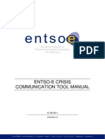 ENTSO-E CCT Tool Manual (Version 110806)