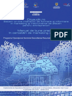 Manual de Bune Practici in Cercetari de Marketing Strategic