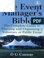Event Manager's Bible