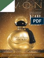 Folheto Avon Cosméticos - Campanha 07/2014 -Edição especial Far Away Gold e Dia das Mães Avon 2014