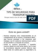 TIPS DE SEGURIDAD PARA TRANSPORTADORES.pptx