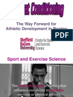 Physiological Testing Battery for Boxing