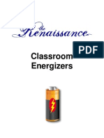 Energizers for the Classroom