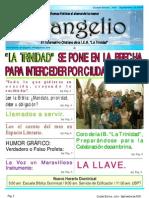 13 Informativo Evangelio Julio - Septiembre de 2009