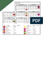 Calendario Nacional PA 2ªD 09-10