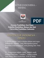 Arsitektur Indonesia HINDU