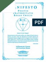 4º manifesto R C 2012 - Positio Fraternitatis Rosae Crucis.pdf