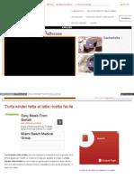 Blog Giallozafferano It Loti64 Torta Kinder Fetta Al Latte r