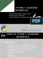 Curso de Python y Seguridad Informatica