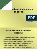 anomalie cromosomiche criptiche