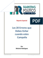 20 Errores que debes evitar cuando estes en Campana - Melanie Rodriguez.pdf
