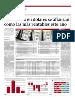 Inversiones en dólares se afianzan como las más rentables este año_Gestión_07-02-2014_página 2