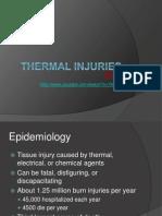 thermal injuries