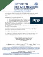 NLRB Notice - AFSCME Council 5