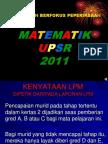 Fokus Matematik UPSR