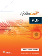 Fortis Speed Core Brochure