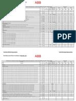 Measuring Sheet for Civil Works