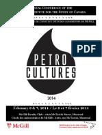 Petrocultures 2014