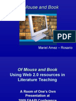 Of Mouse and Book