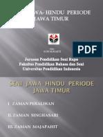 Seni Jawa- Hindu Periode Jawa Timur