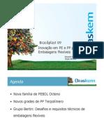 Eduardo Dâmaso - Inovações em PE e PP para embalagens Flexíveis