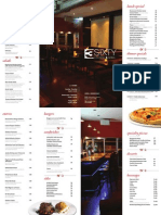 3Sixty Lounge and Grill Menu