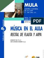 Recital Flauta y Arpa