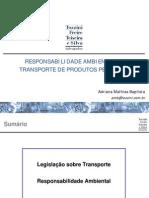 Resp.ambiental No Transporte de Produtos Perigosos