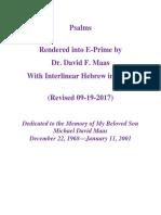 Psalms in E-Prime With Interlinear Hebrew in IPA (02-07-2014)