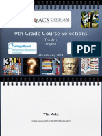 9th grade course selection presentation 2014 - part three