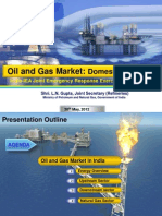 IEA Oil and Gas Domestic Scenario