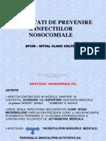 Prevenire infectii nosocomiale
