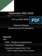 September 28th 2009