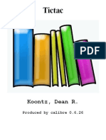 Tictac - Koontz, Dean R.epub